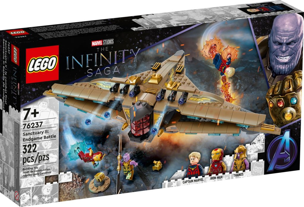LEGO Marvel 76237 Sanctuary II: Finales Duell | ©LEGO Gruppe