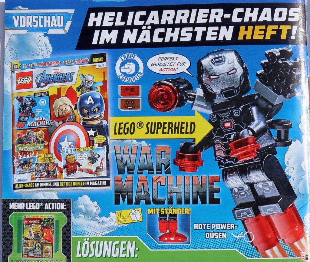 Vorschau auf Heft Nr. 7 mit War Maschine | ©Brickzeit