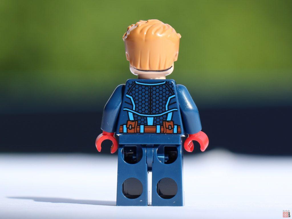 Steve Rogers, Rückseite | ©Brickzeit