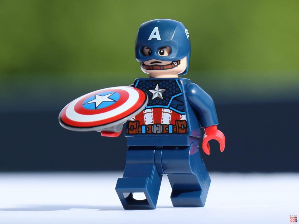 Captain America wirft Schild | ©Brickzeit