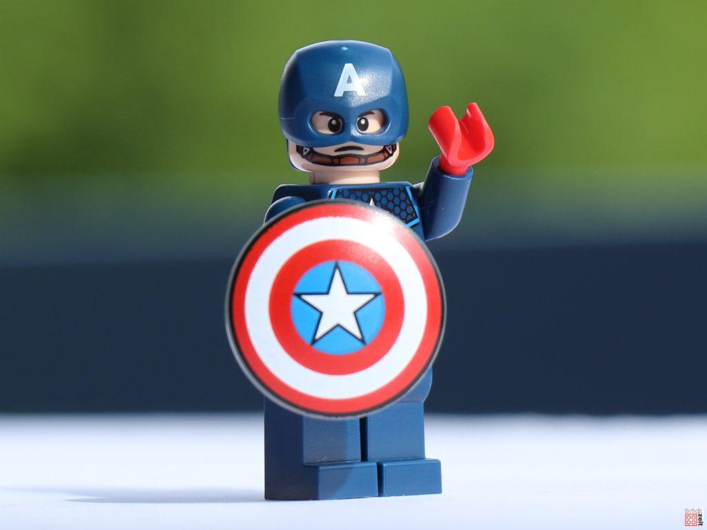 Captain America mit Schild | ©Brickzeit