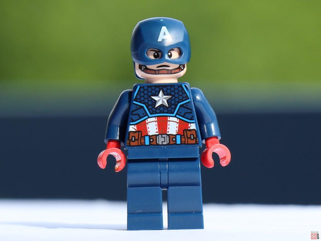 Captain America, Vorderseite | ©Brickzeit