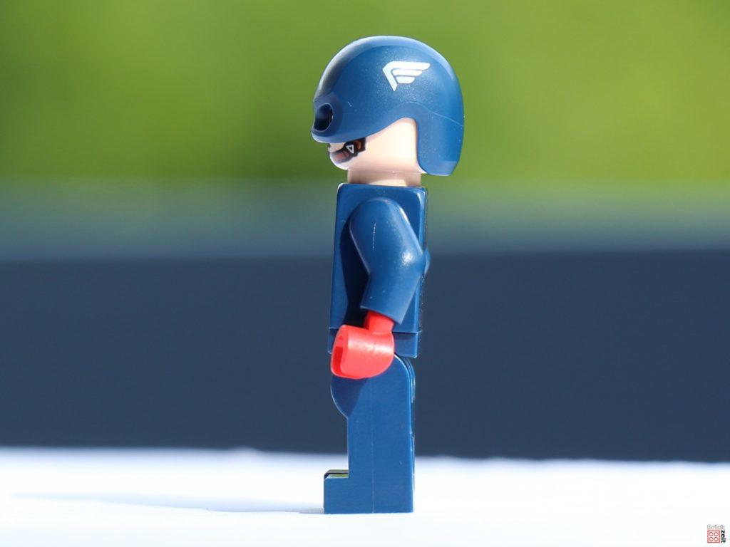 Captain America, linke Seite | ©Brickzeit