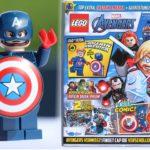 LEGO Marvel Avengers Magazin Nr. 6 mit Captain America | ©Brickzeit