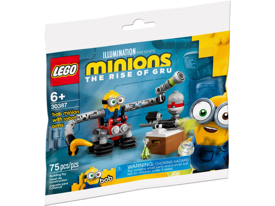 LEGO 30387 Minion Bob mit Roboterarmen | ©LEGO Gruppe