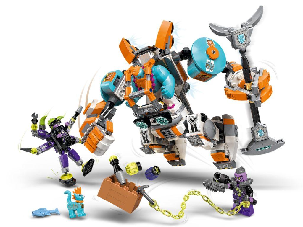 LEGO Monkie Kid 80025 Supermeca de Carga de Sandy   ©LEGO Gruppe