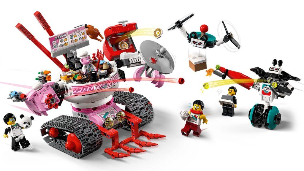 LEGO Monkie Kid 80026 Pigsys Nudelwagen   ©LEGO Gruppe