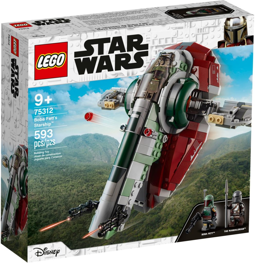 LEGO Star Wars 75312 Boba Fetts Starship   ©LEGO Gruppe
