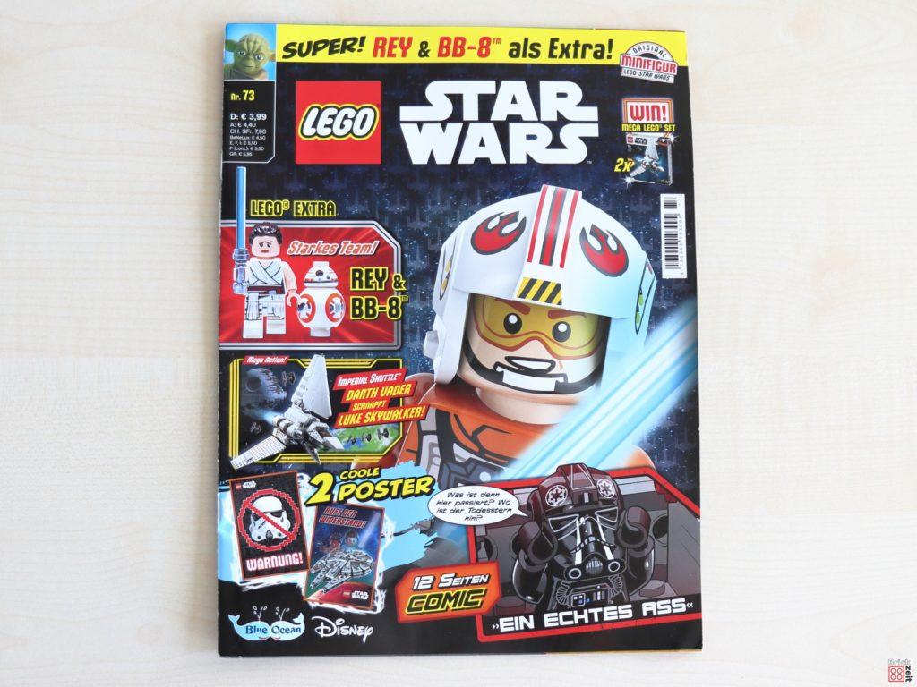LEGO Star Wars Magazin Nr. 73 - Cover | ©Brickzeit