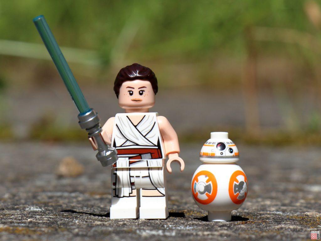 Rey und BB-8 aus LEGO Star Wars Magazin Nr. 73 | ©Brickzeit