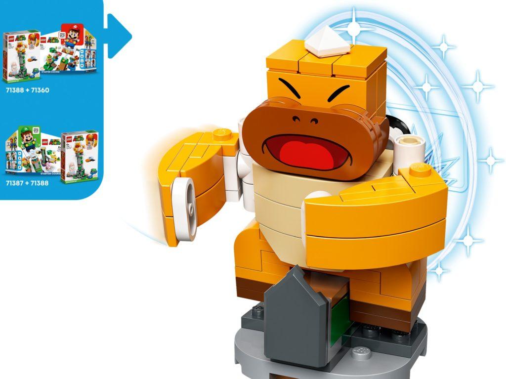 LEGO Super Mario 71388 Kippturm mit Sumo-Bruder-Boss – Erweiterungsset | ©LEGO Gruppe
