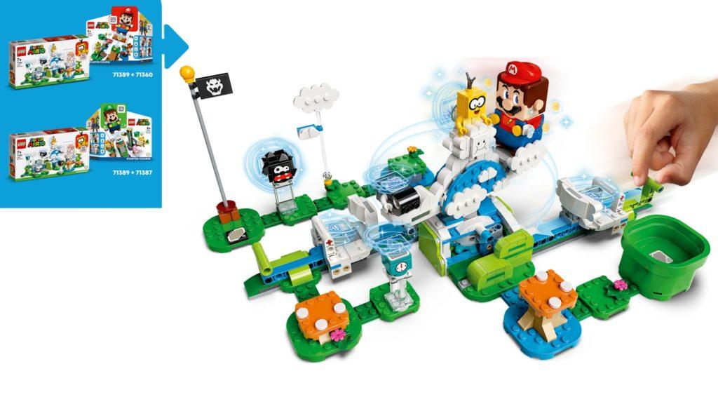 LEGO Super Mario 71389 Lakitus Wolkenwelt – Erweiterungsset | ©LEGO Gruppe