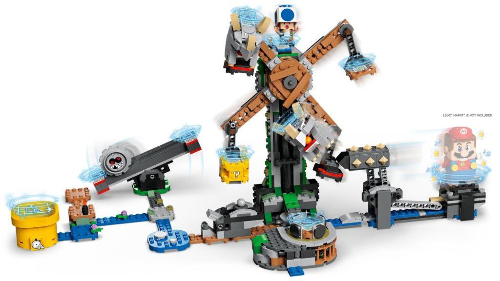 LEGO Super Mario 71390 Reznors Absturz – Erweiterungsset | ©LEGO Gruppe