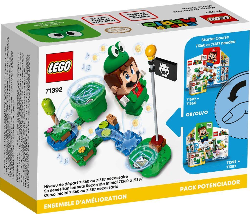 LEGO Super Mario 71392 Frosch-Mario Anzug | ©LEGO Gruppe