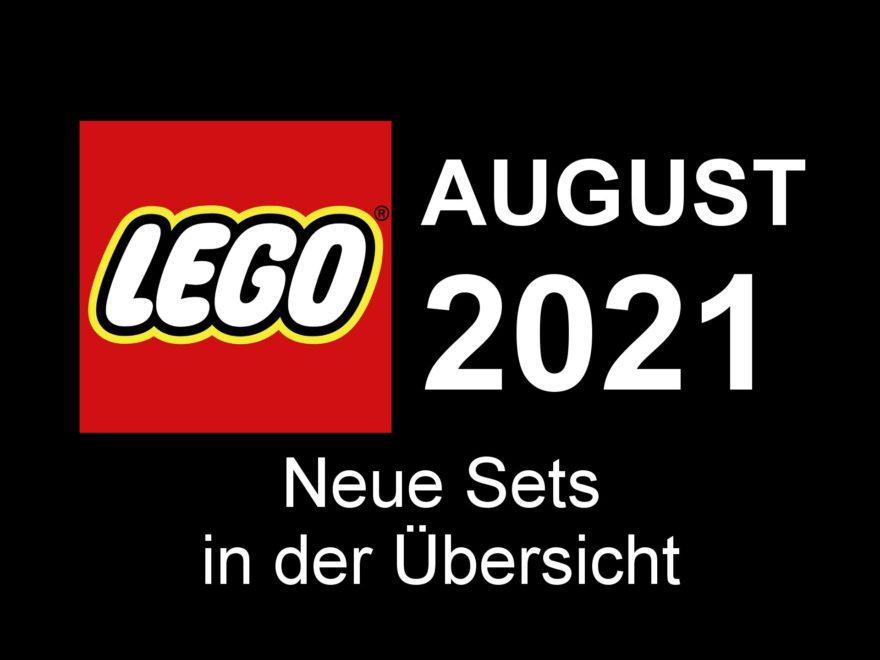 LEGO Neuheiten August 2021