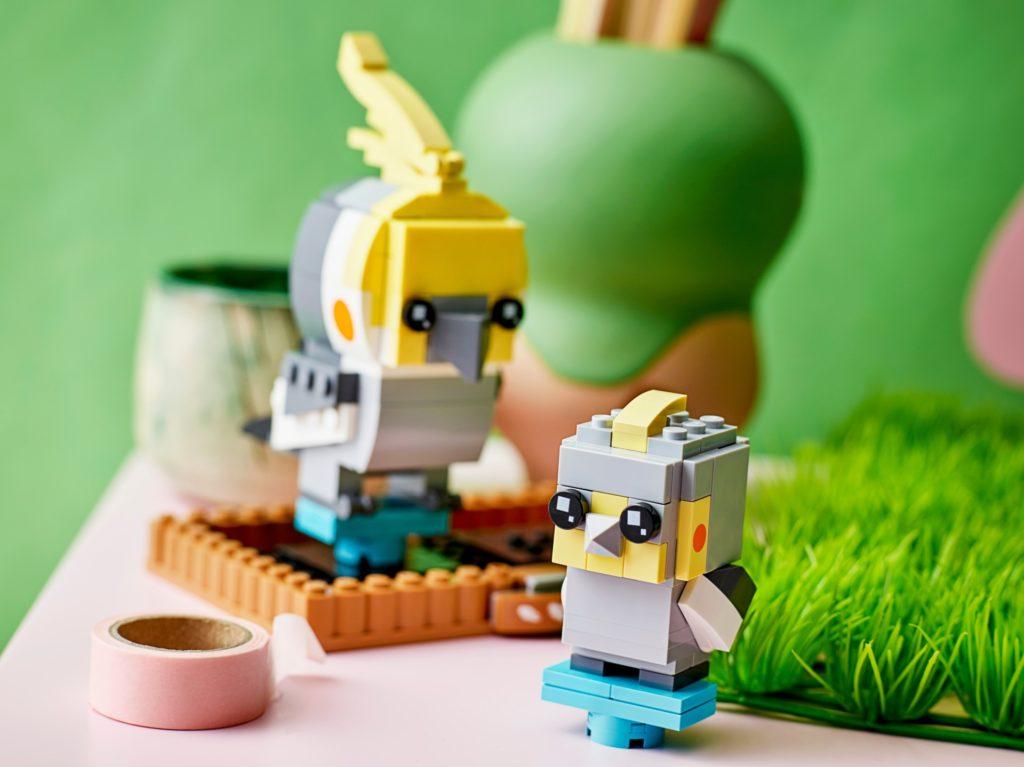 LEGO Brickheadz 40481 Nymphensittich | ©LEGO Gruppe