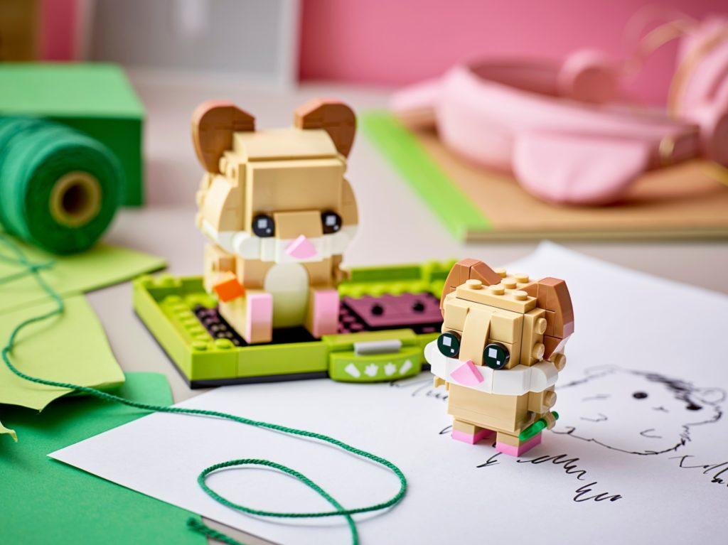 LEGO Brickheadz 40482 Hamster | ©LEGO Gruppe