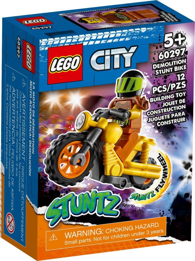 LEGO City 60297 Power-Stuntbike   ©LEGO Gruppe