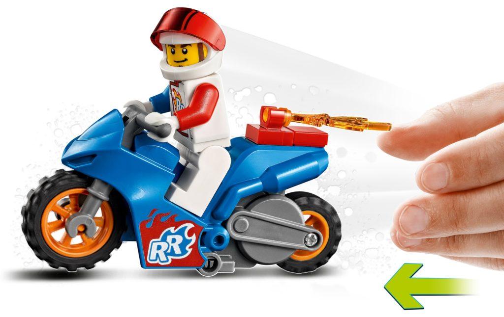 LEGO City 60298 Raketen-Stuntbike   ©LEGO Gruppe