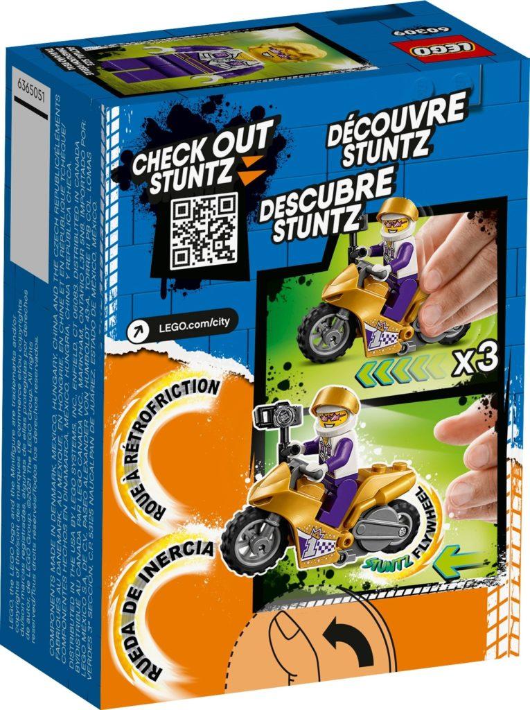 LEGO City 60309 Selfie-Stuntbike   ©LEGO Gruppe