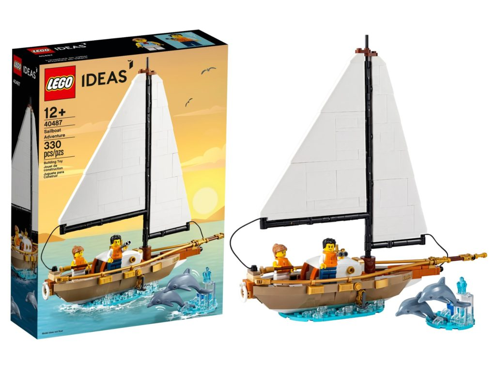 LEGO Ideas 40487 Sailboat Adventure   LEGO Gruppe