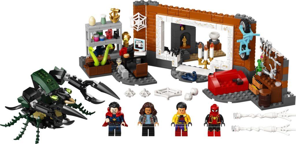 LEGO Marvel 76185 Spider-Man in der Sanctum Werkstatt | ©LEGO Gruppe