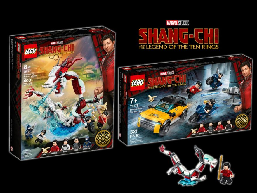 LEGO Marvel Shang-Chi Sets ab 2. August 2021 verfügbar