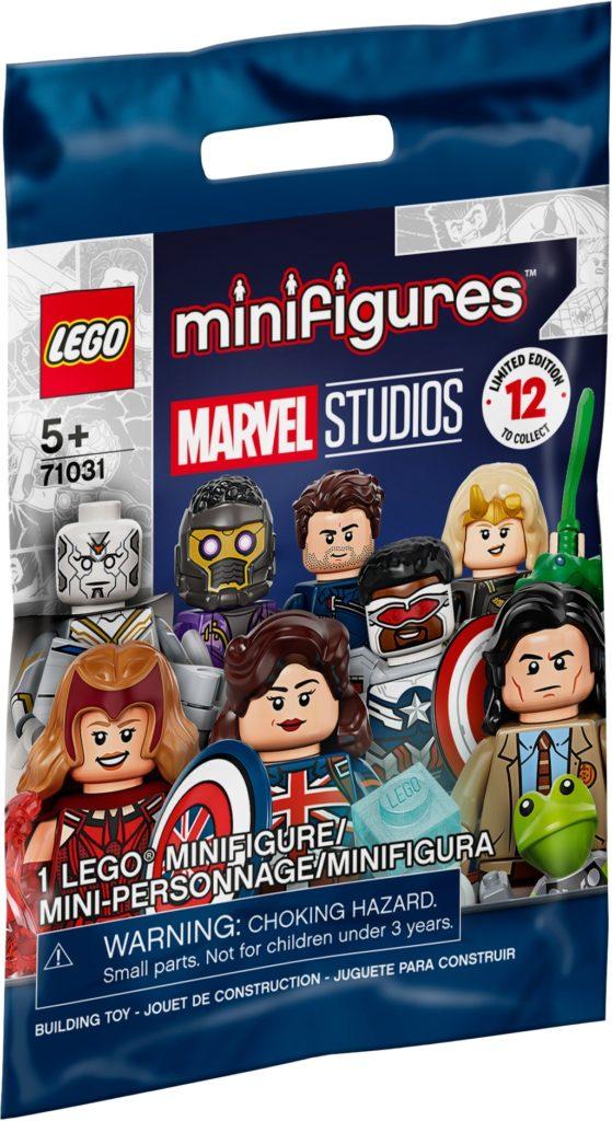 LEGO Minifiguren Marvel Studios (71031)   ©LEGO Gruppe