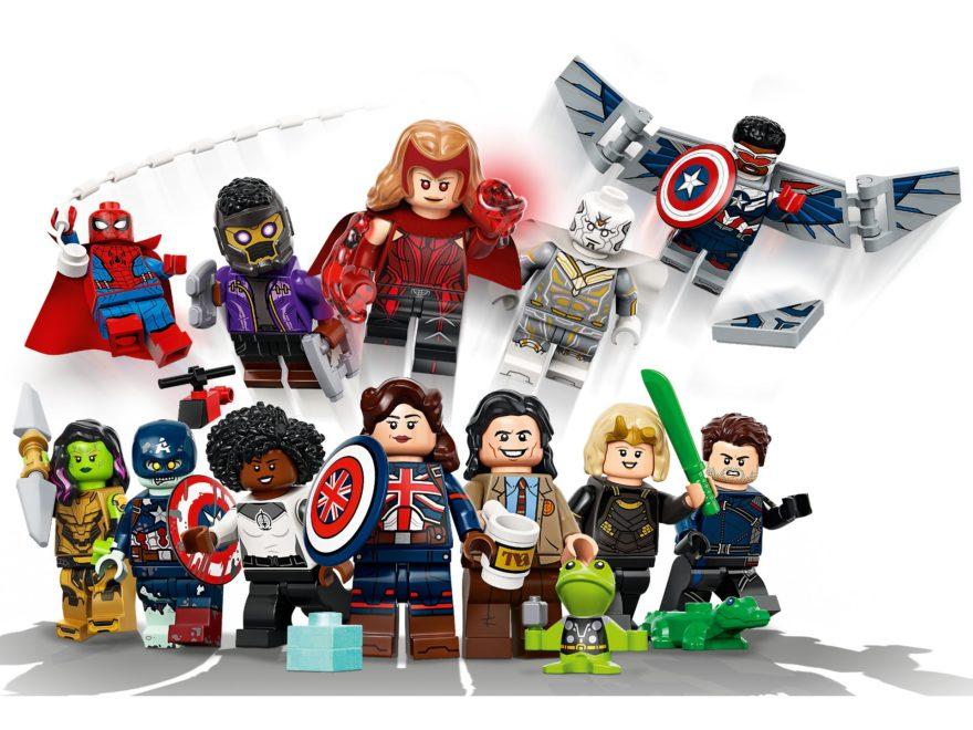 LEGO Minifiguren Marvel Studios (71031) | ©LEGO Gruppe