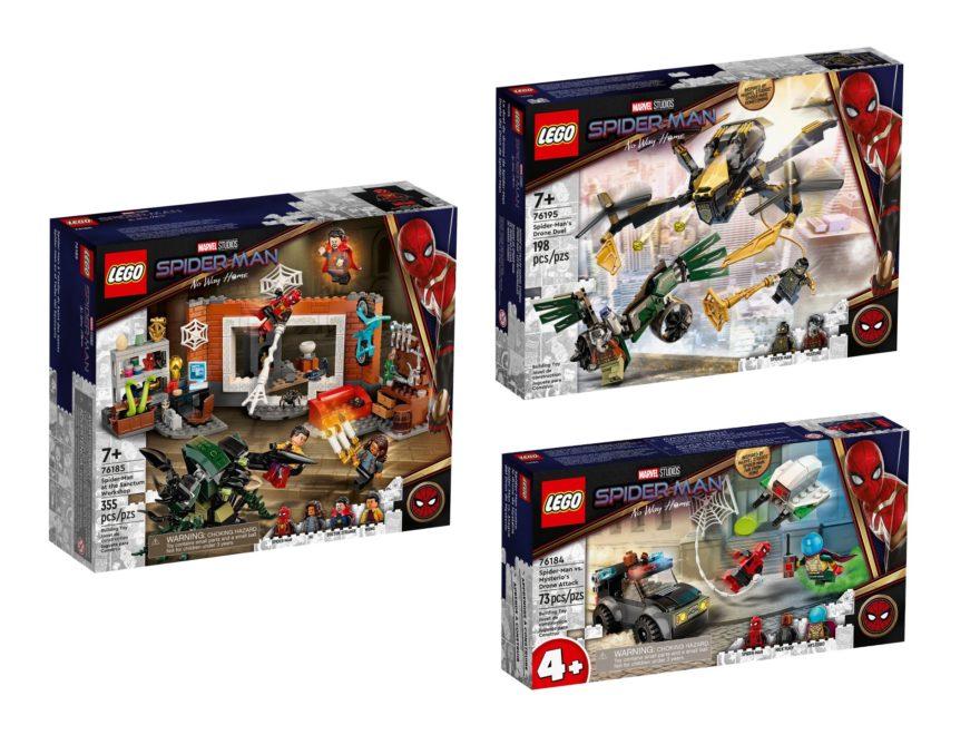 """LEGO Spider-Man """"No Way Home"""" Neuheiten Oktober 2021"""