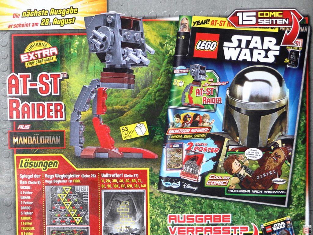 Heftvorschau auf LEGO Star Wars Magazin Nr. 75 | ©Brickzeit