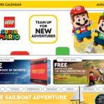 LEGO Store Kalender August 2021 USA Titel | ©LEGO Grupe