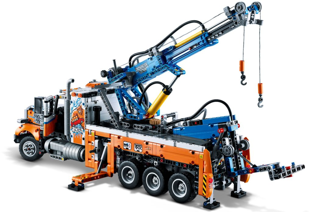 LEGO Technic 42128 Schwerlast-Abschleppwagen | ©LEGO Gruppe