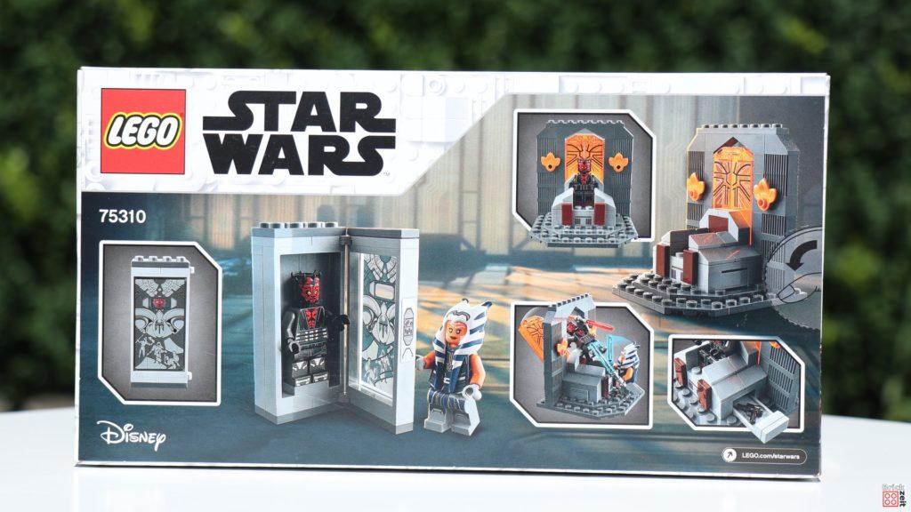 Packung, Rückseite - LEOG Star Wars 75310 Duell auf Mandalore   ©Brickzeit
