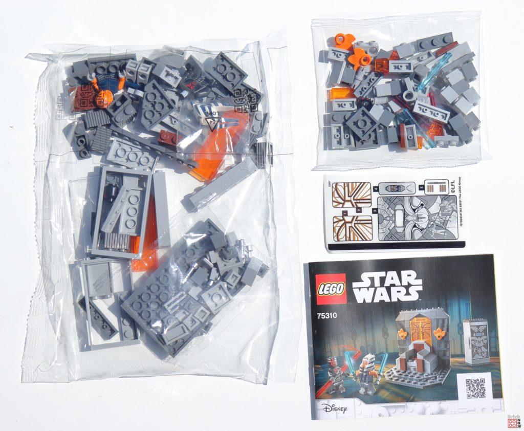 Inhalt von LEGO 75310   ©Brickzeit