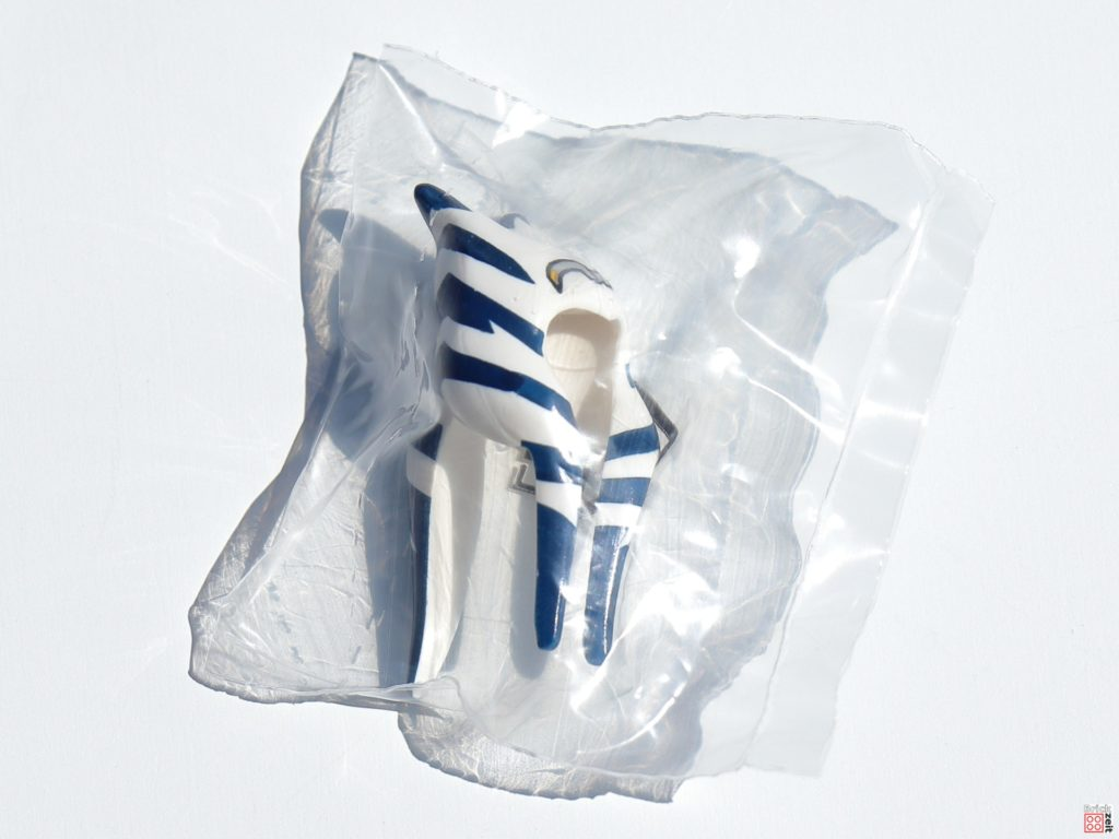 Ahsoka Tanos Kopfteil ist extra verpackt   ©Brickzeit