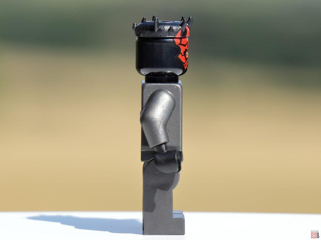 LEGO 75310 - Darth Maul, rechte Seite   ©Brickzeit