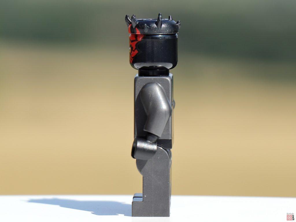 LEGO 75310 - Darth Maul, linke Seite   ©Brickzeit