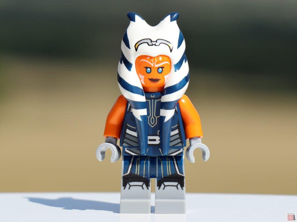 LEGO 75310 Ahsoka Tano, Vorderseite   ©Brickzeit