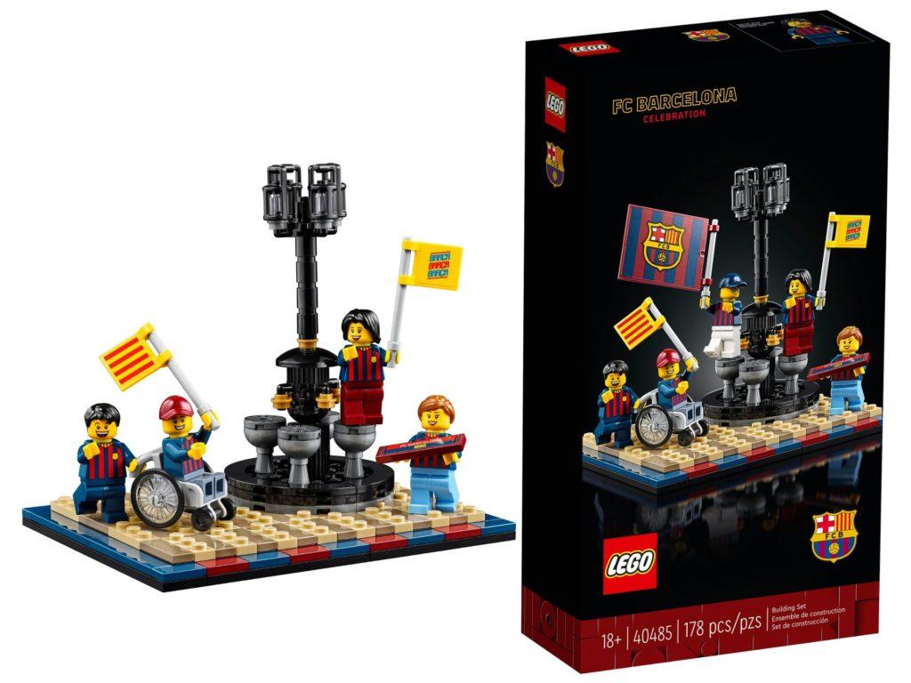 LEGO 40485 FC Barcelona Celebration   ©LEGO Gruppe