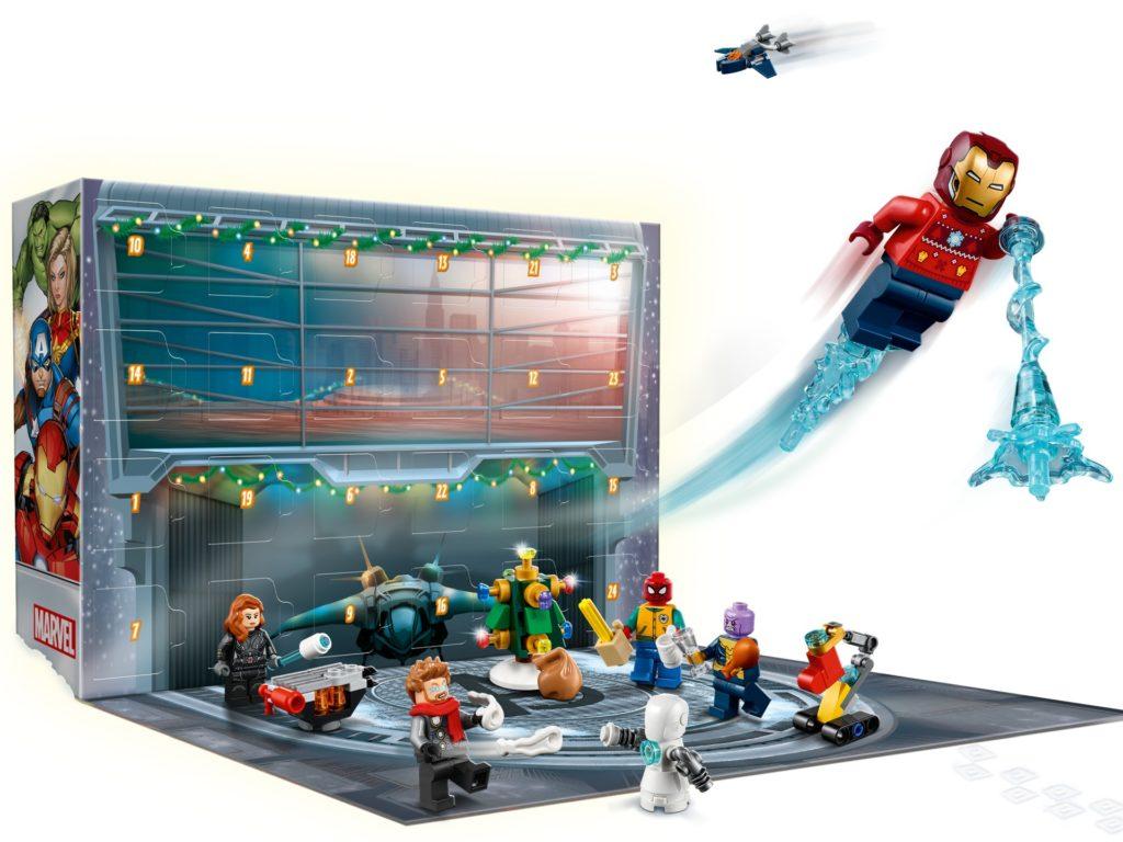 LEGO Marvel 76196 Avengers Adventskalender 2021 | ©LEGO Gruppe