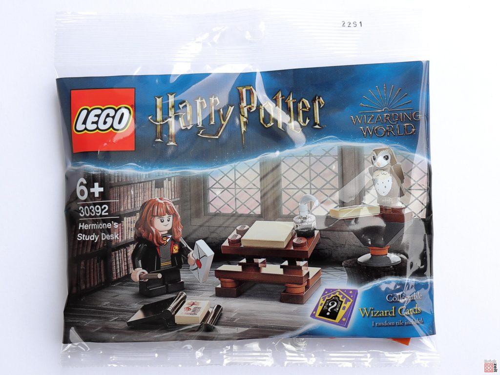 Polybag LEGO Harry Potter 30392 Hermines Schreibtisch   ©Brickzeit