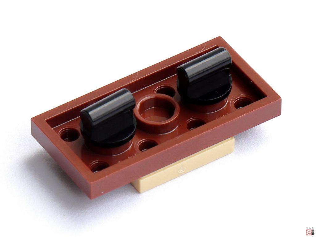 Kippbare Schreibtischplatte, Unterseite   ©Brickzeit