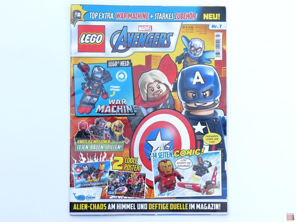 LEGO Marvel Avengers Magazin Nr. 7 Cover | ©Brickzeit