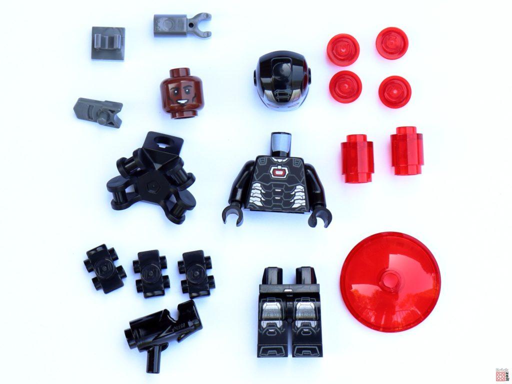 LEGO Marvel War Machine Polybag Item-Nr.: 242107 - Inhalt | ©Brickzeit