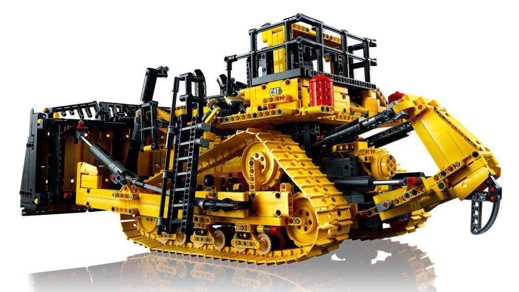 LEGO Technic 42131 Appgesteuerter Cat D11 Bulldozer | ©LEGO Gruppe