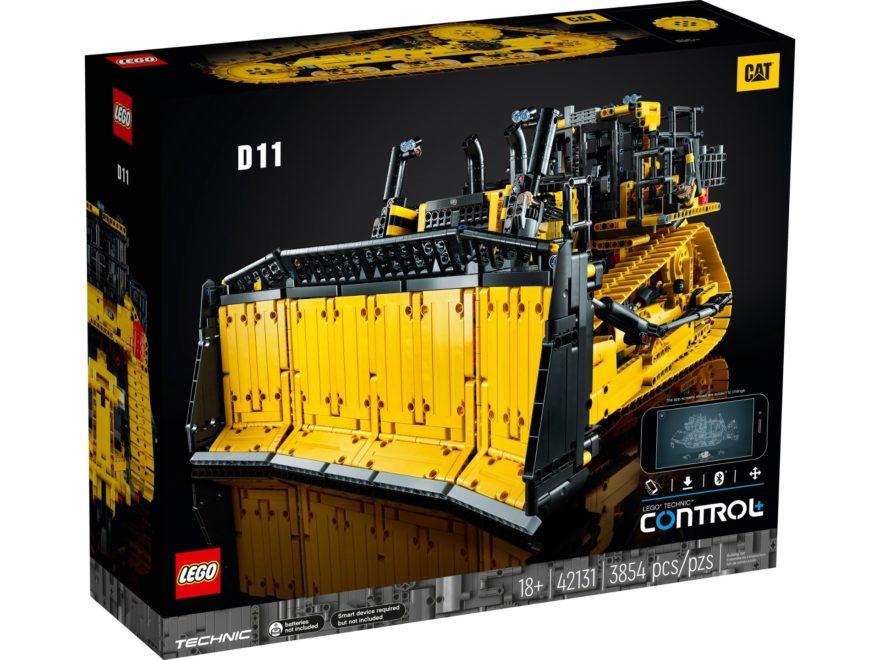 LEGO Technic 42131 Appgesteuerter Cat D11 Bulldozer ab 1. Oktober 2021 verfügbar