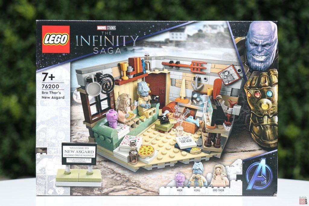 Packung, Vorderseite - LEGO 76200 Bro Thors neues Asgard | ©Brickzeit