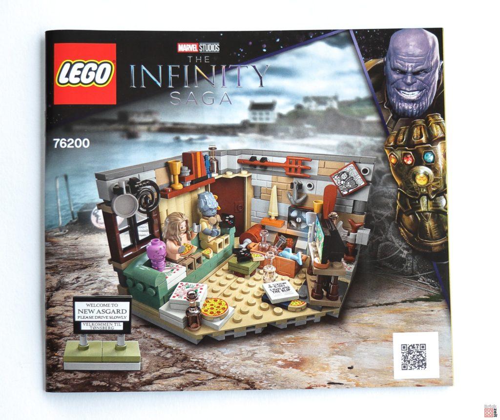 Bauanleitung LEGO 76200 | ©Brickzeit