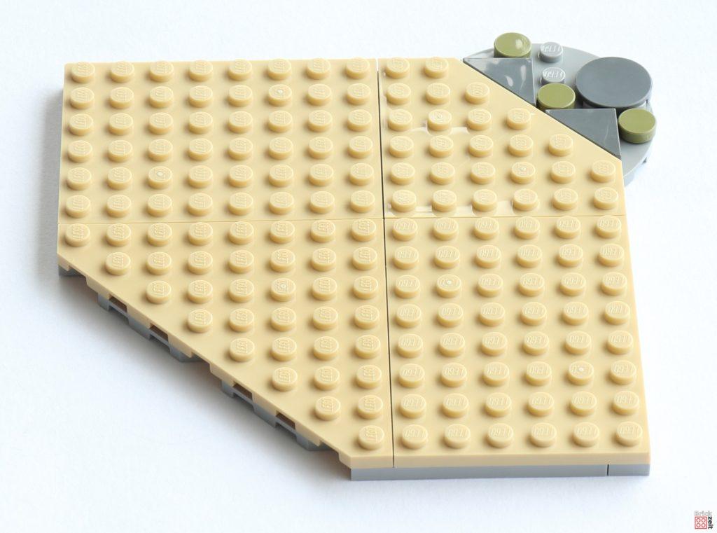 Bodenplatte, Vorderseite | ©Brickzeit